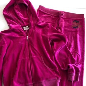 Juicy Couture velour outfit
